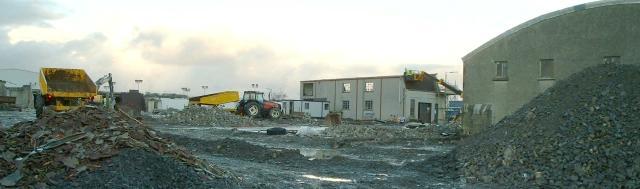 St Clairs Emporium demolition
