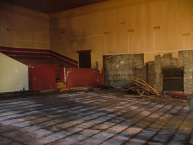 Inside of the old Phoenix