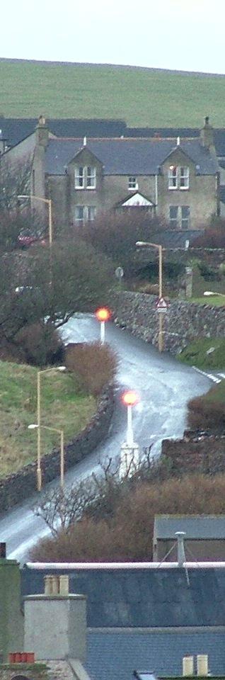 Leading lights on Hellihole Road