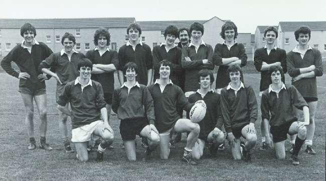 A KGS rugby team, 1981