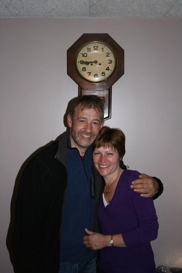 Stuart Flett and Cousin Pam