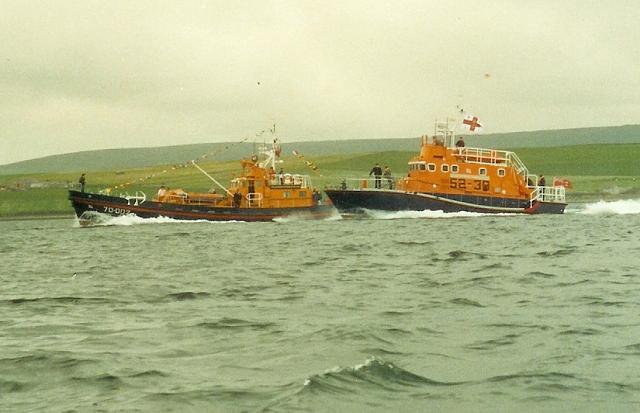 Kirkwall lifeboats