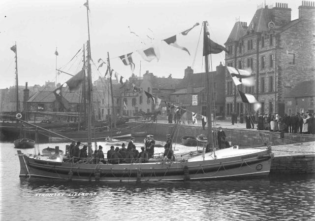 Naming of the Stronsay lifeboat