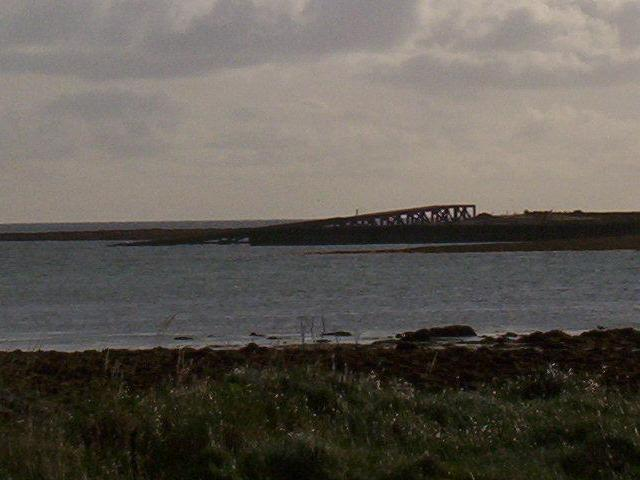 Remains of Stronsay Lifeboat Station