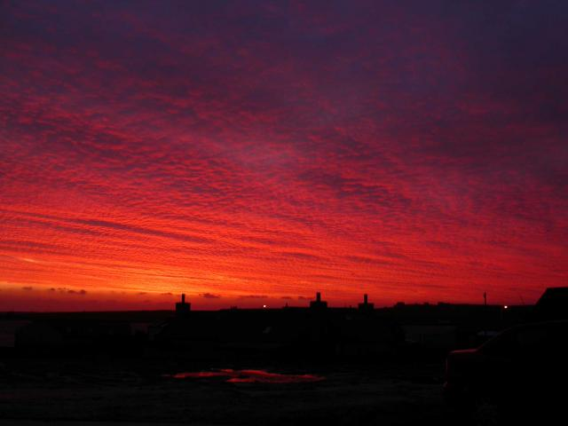 January picture from Westray