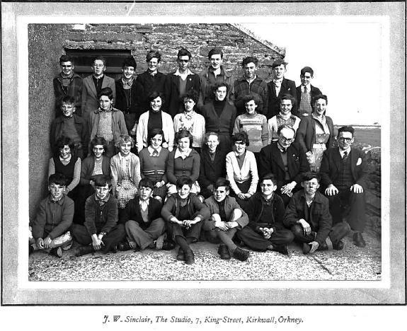 Sanday Central School 1953