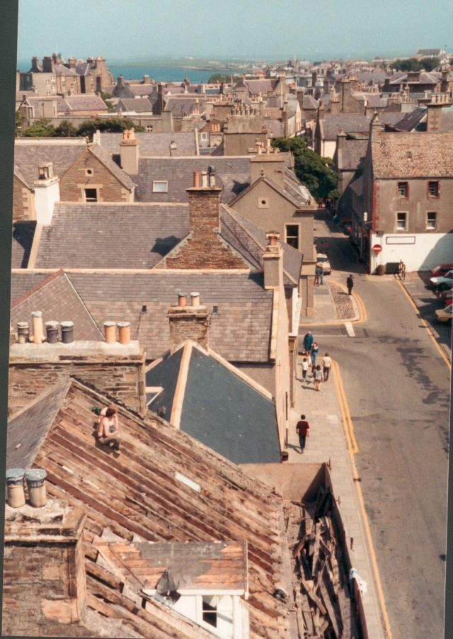 Looking North from Kirkwall Town Hall