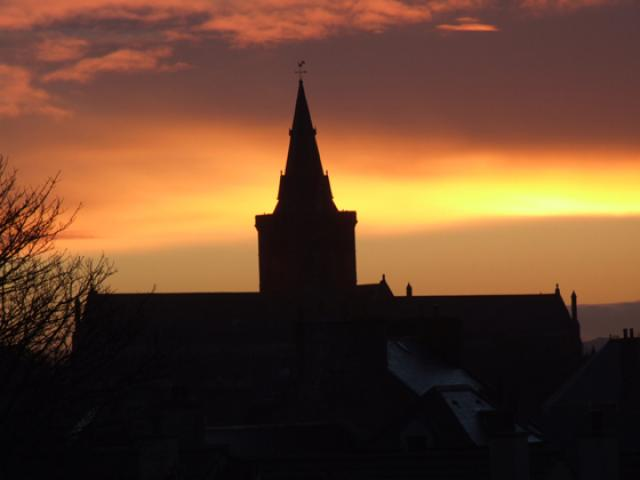 Sunset on St Magnus