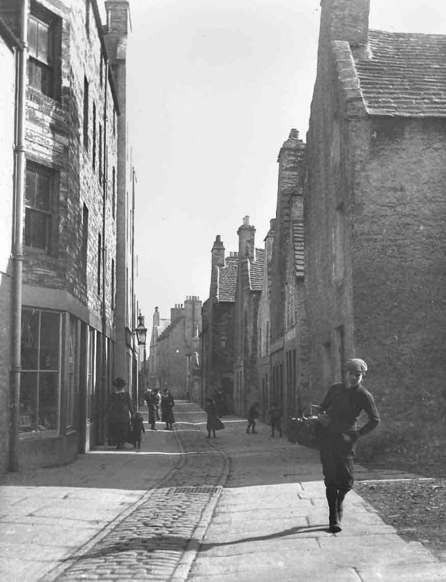 Looking down Victoria Street, Kirkwall