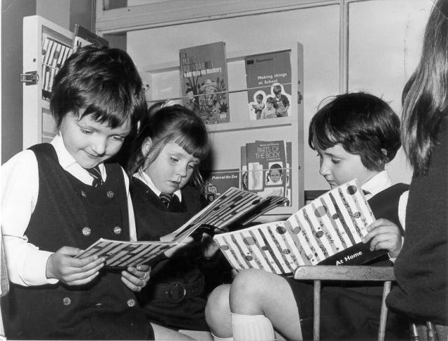 P1 at Kirkwall Primary, 1973