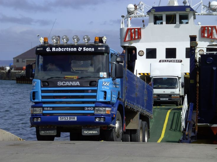 Load of stuff for Shapinsay
