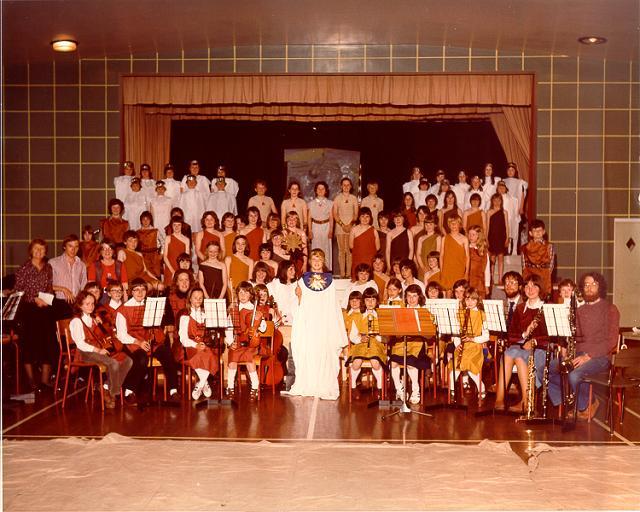 School concert, Kirkwall Primary, 1979