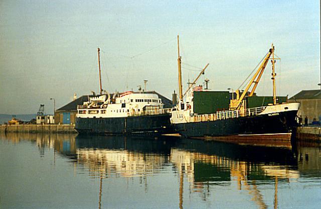 MV Orcadia and MV Islander