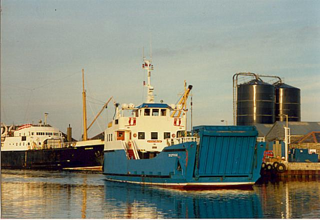 MV Orcadia and MV Shapinsay