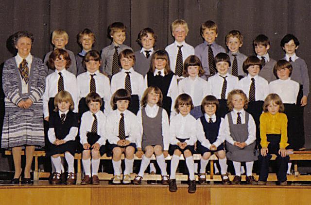 Papdale Primary School, Kirkwall, 1979 class