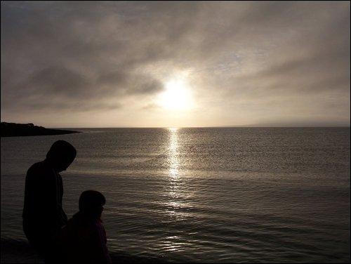 Sun Shine Silhouette