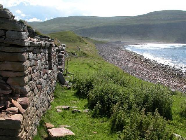 Rackwick ruins, Hoy
