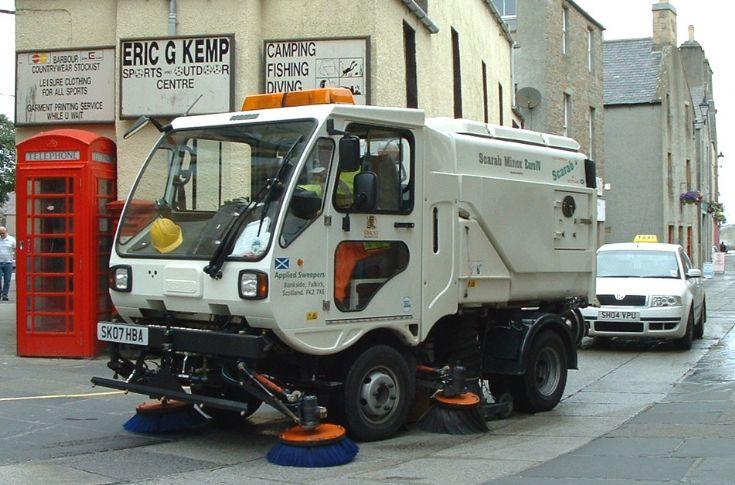 new roadsweeper