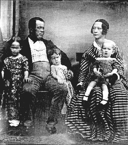 Capt. T D Scott & Family