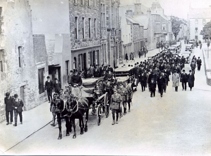 Funeral procession on Broad Street