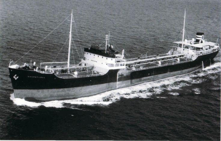 Norwegian tanker - DOVREFJELL.