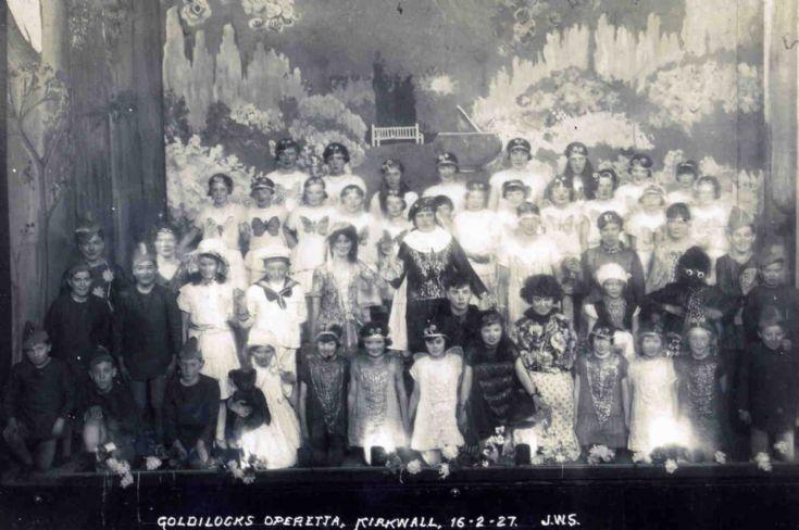 Golidilocks operetta, Kirkwall 16-2-27