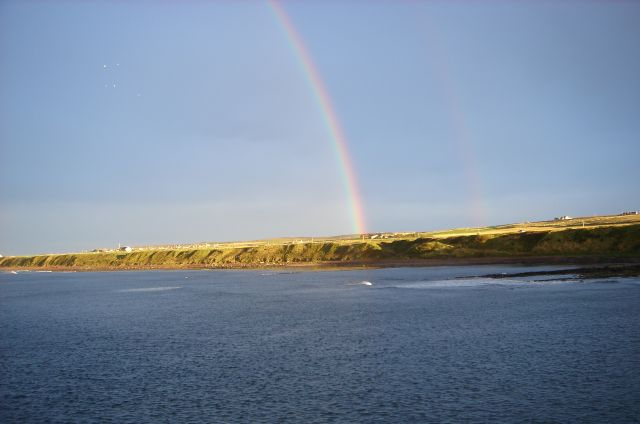 Rainbow over Caithness