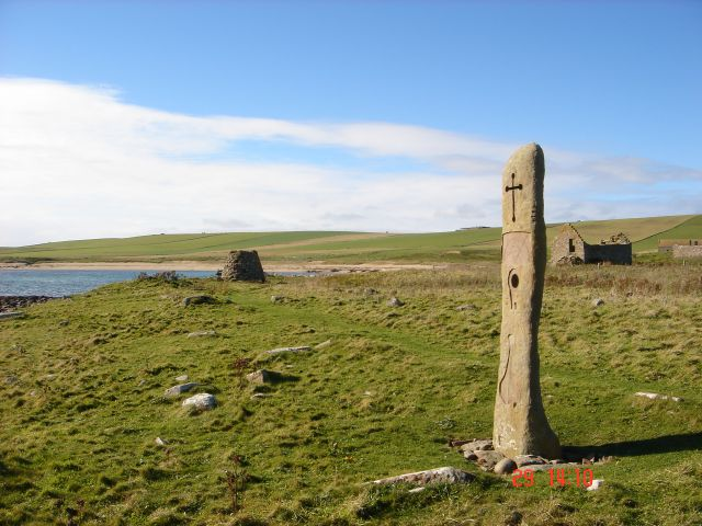 The Millenium Stone, Eastside, South Ronaldsay