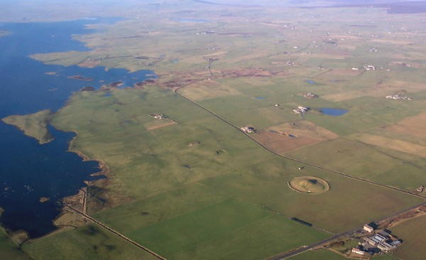 Maes Howe From the air