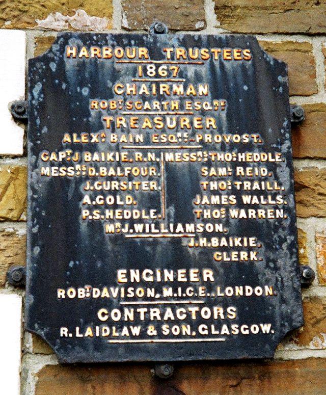 Kirkwall Harbour Trustees, 1867