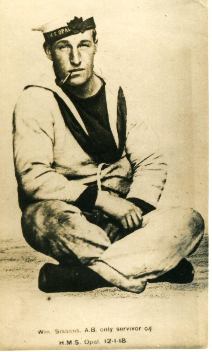 Seaman, survivor of H.M.S. Opal