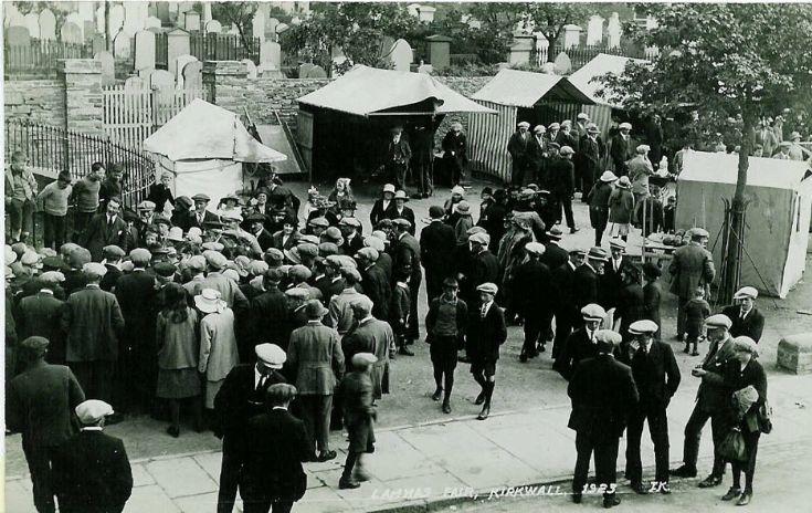 Lammas Fair 1923, 2nd view