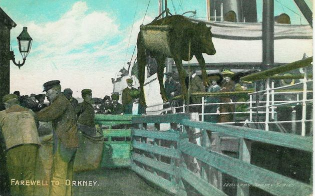 Farewell to Orkney - Leonards Series Postcard