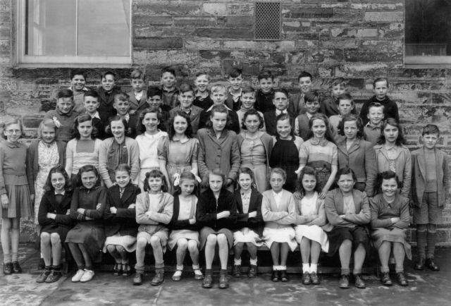 Kirkwall Grammar School 1948 or 1949