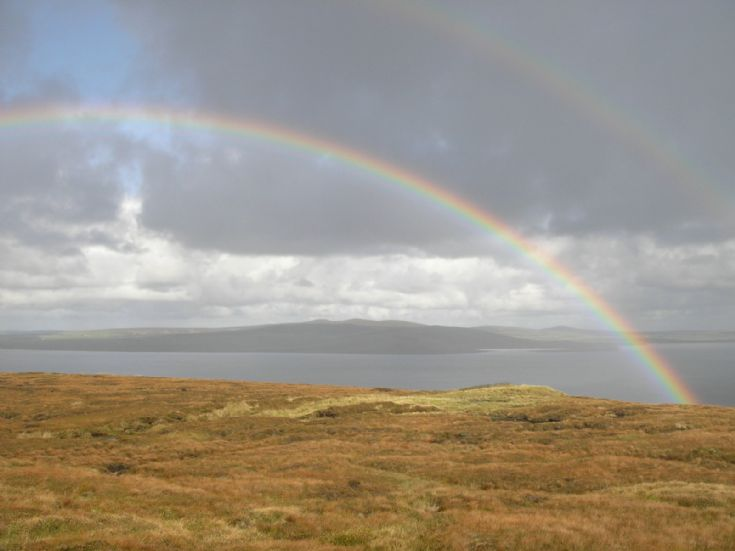 Rainbows over Hoy