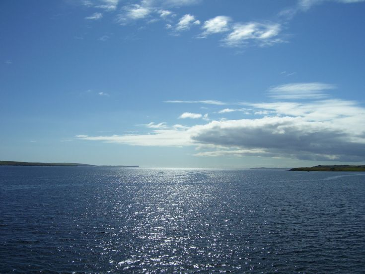 View from Golta, Flotta