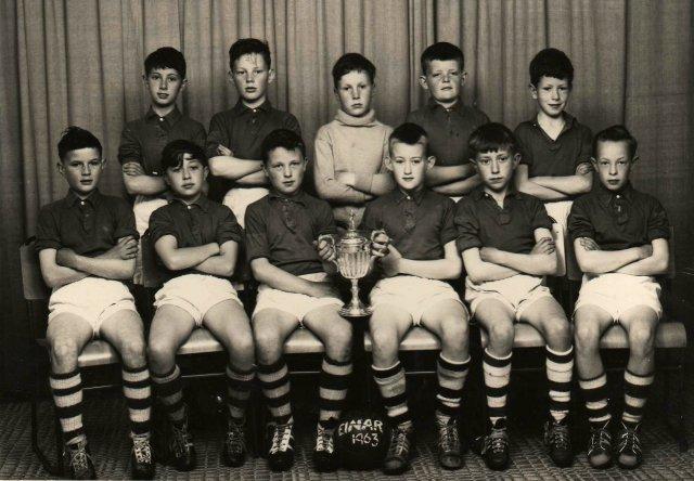 Einar football champs, 1963