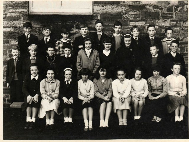 Kirkwall school class c. 1966