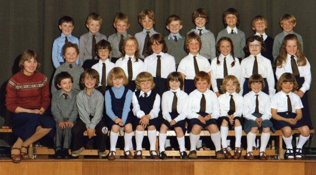 Kirkwall Primary P3 Class, 1980