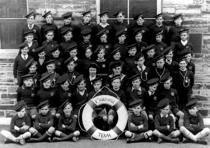 1st Kirkwall Team The Life Boys