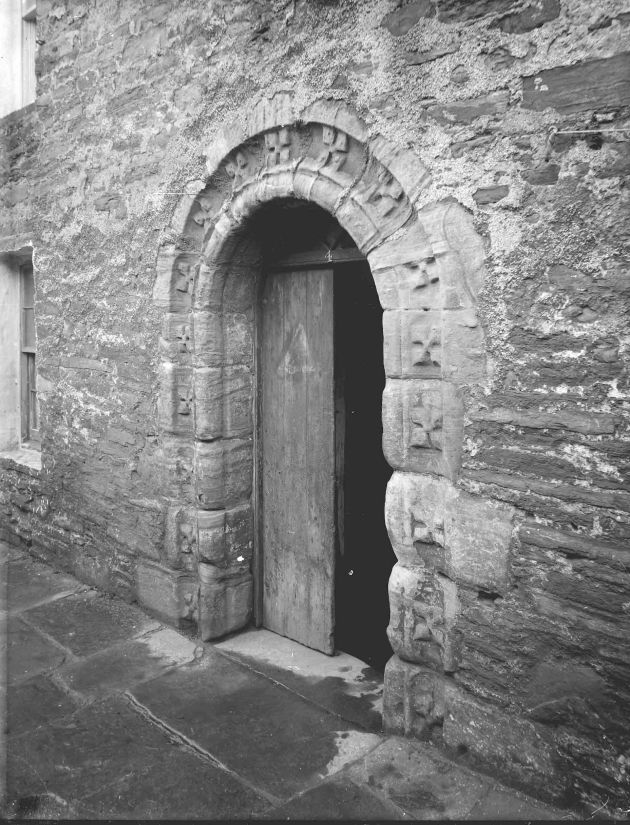 Doorway of St Olaf's Church