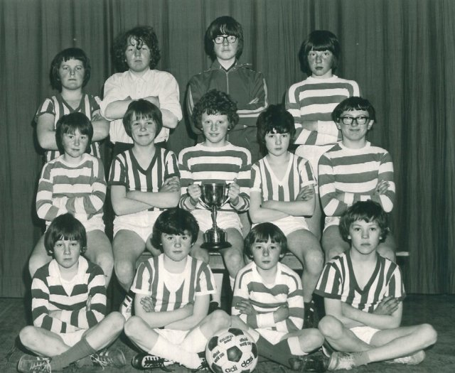 Birsay Primary School football team
