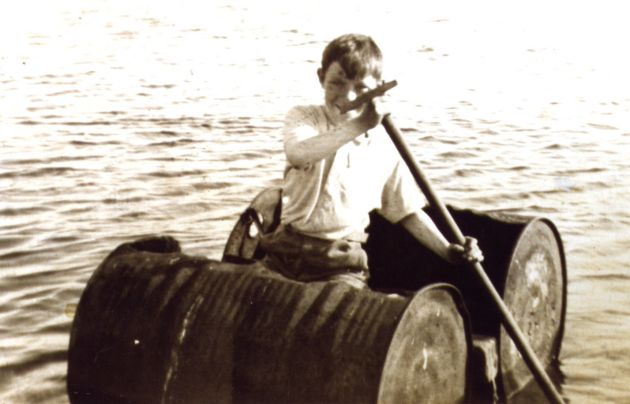 Homemade boat at Scapa 1936, part II