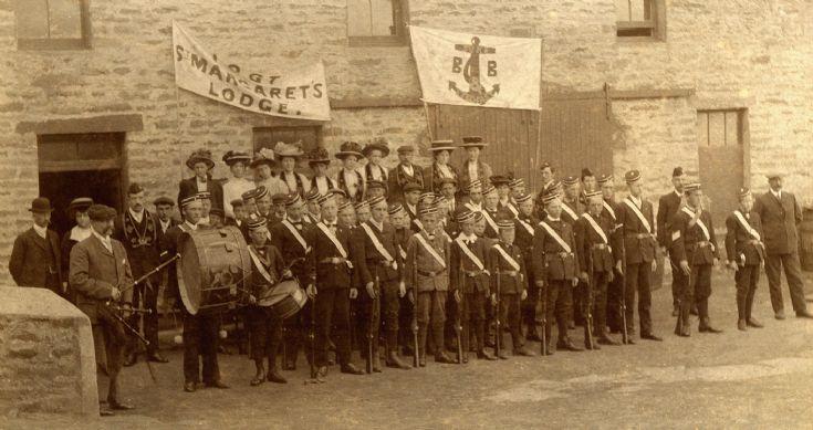 Boys' Brigade in St. Margaret's Hope
