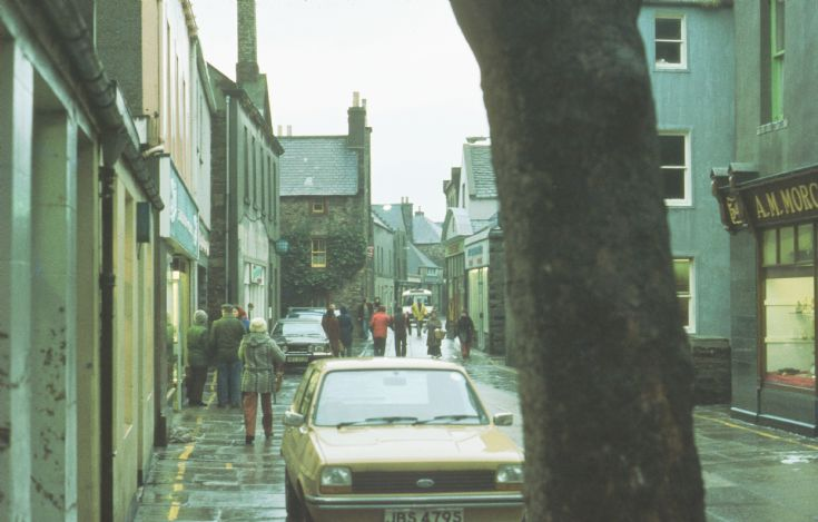 Kirkwall pedestrian zone