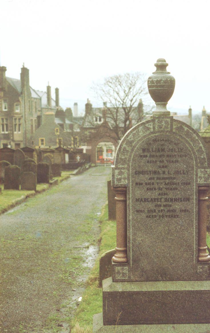 Kirkwall graveyard stele