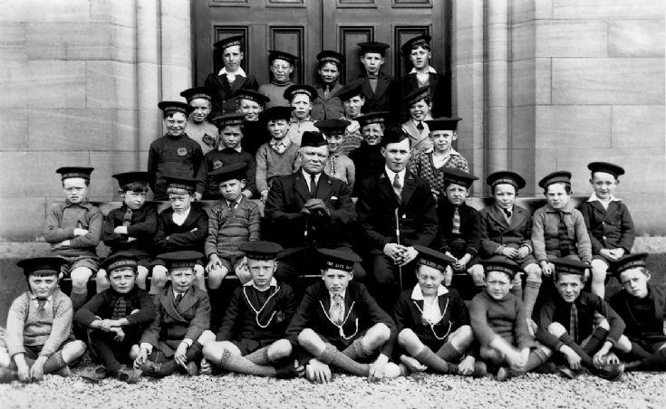 1st Kirkwall Team The Life Boys 1934