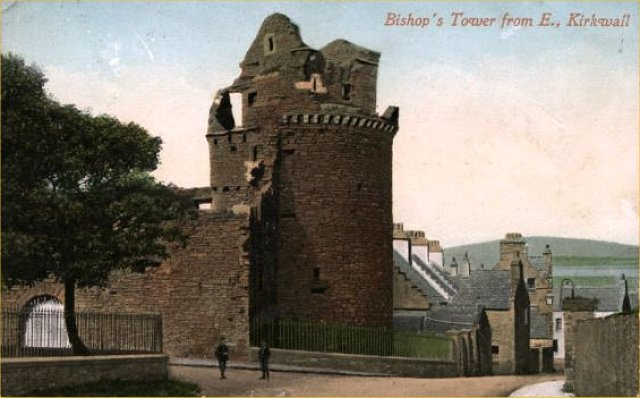 Bishop's Tower from E. Kirkwall