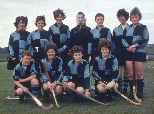 Kirkwall Ladies hockey team
