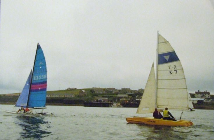Old and new , Longhope regatta